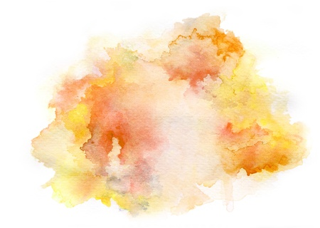 Colorful watercolor drawing for use in artistic background Reklamní fotografie