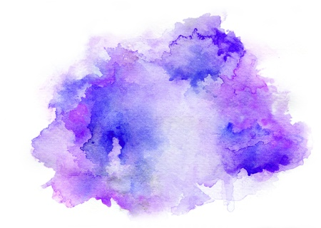 multilayer: Colorful watercolor drawing for use in artistic background Stock Photo