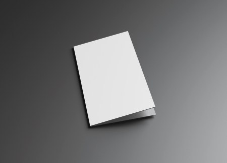 This leaflet presentation for promotion of Corporate identity  Standard-Bild
