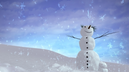 The background of snowflake falling for Christmas theme photo