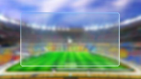 squad: soccer match scoreboard display the goal result