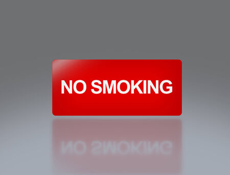 to sue: the notice of no smoking sign for public safety