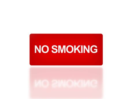 no mistake: the notice of no smoking sign for public safety