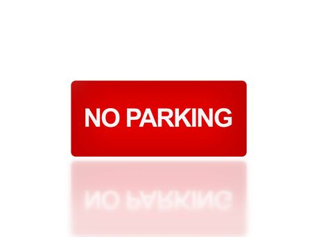 to sue: the notice of  NO parking for transportation safety
