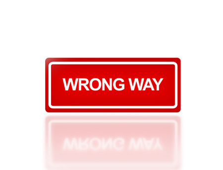 to sue: the notice of signage of wrong way for transportation safety