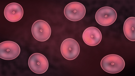 multiplicacion: Resumen ilustraci�n de las c�lulas en mitosis y la multiplicaci�n de las c�lulas para la belleza y la biolog�a concepto