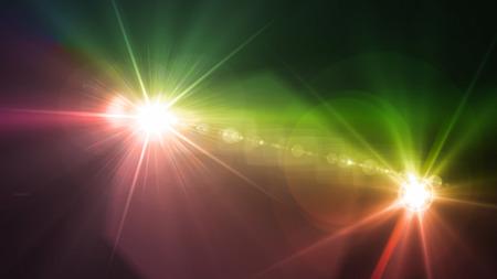 back lighting: Flash light & Flare theme