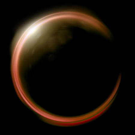 astrophysical: beautiful ring lens flare effect is simple to use add on background