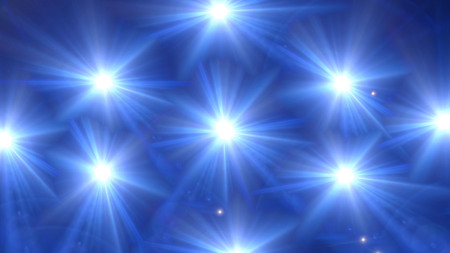 flashes: star lens flare effect is simple to use add on background
