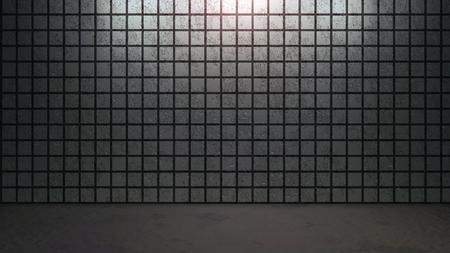 ceramica: el fondo de ladrillo con arreglo patrón abstracto