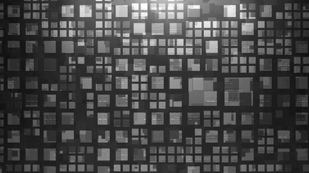 square background: the metal square background with abstract pattern