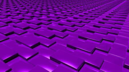 aluminium background: The Abstract background made of 3d cubes