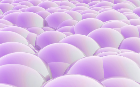 human skin texture: The Abstract cell background made of 3d Spheres for skin care concept Stock Photo
