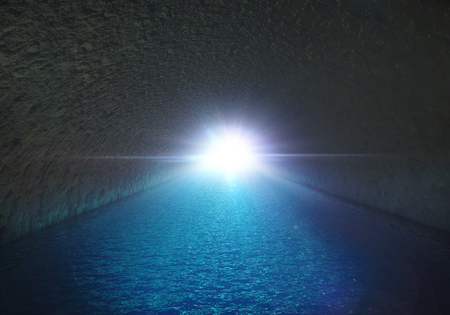 mysteries: the horrible sea cave tunnel