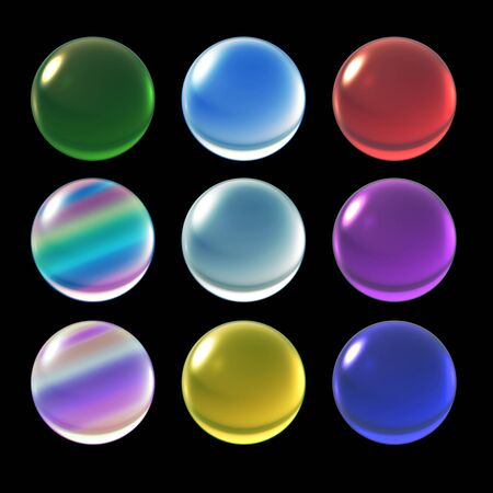 ice crystal: colorful ice crystal ball background for Christmas celebration theme