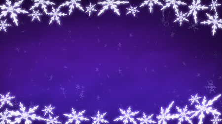ice crystal: Ice crystal snowflakes of overlay background for Christmas celebration theme Stock Photo