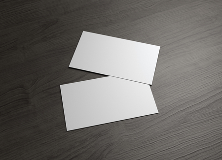 The 3d name card to use for any presentation of business company Reklamní fotografie