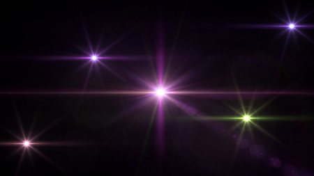 camera flash: abstract image of lens flare representing the camera flash with special effect Stock Photo