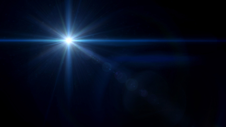 abstract image of lens flare representing the camera flash with special effect 写真素材