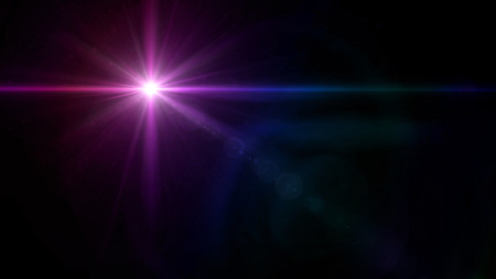 special effect: abstract image of lens flare representing the camera flash with special effect Stock Photo
