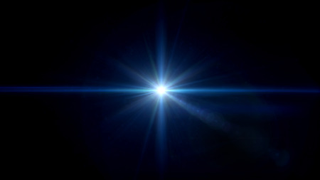 abstract image of lens flare representing the camera flash with special effect Stock Photo