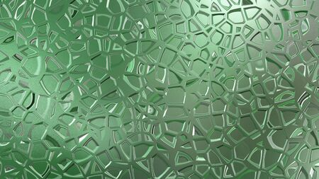 shiny metal background: The glisten of abstract green background and texture