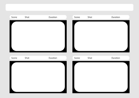 Professional Of Hd  X   Storyboard Template Is