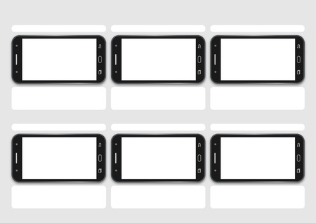 storyboard: Professional of cell phone screen HD 1920 x 1080 storyboard template is convenience to present the storyline to client. A4 design of paper ratio is easy to fit for print out. Illustration