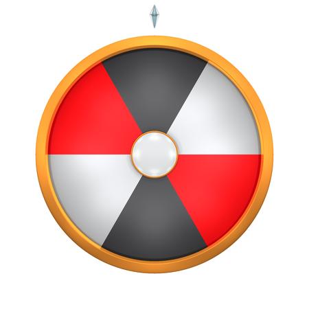 rueda de la fortuna: Lucky giro representan la rueda de la fortuna concepto. Este gráfico es crear por Tridimensional. Bienvenido a añadir en cualquier texto y el premio para su uso en la promoción o venta de juegos.