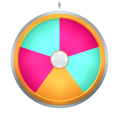 to spin: Lucky spin represent the wheel of fortune concept. This graphic is create by Three Dimensional. Welcome to add on any text and prize for use in game or sale promotion.