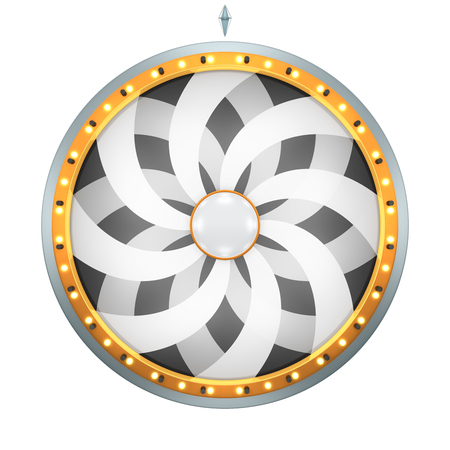 three wheel: The wheel of fortune or Lucky spin animation was created by Three Dimensional.