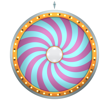 three dimensional: The wheel of fortune or Lucky spin animation was created by Three Dimensional.