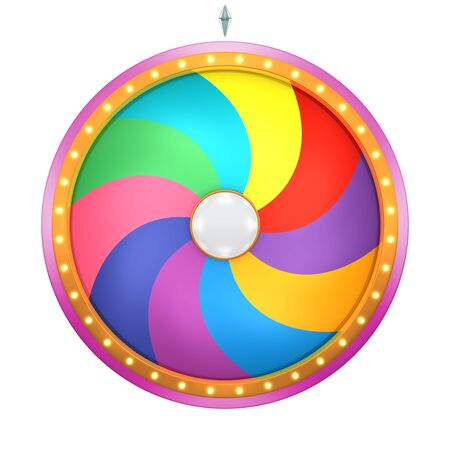 wheel of fortune: The wheel of fortune or Lucky spin animation was created by Three Dimensional.