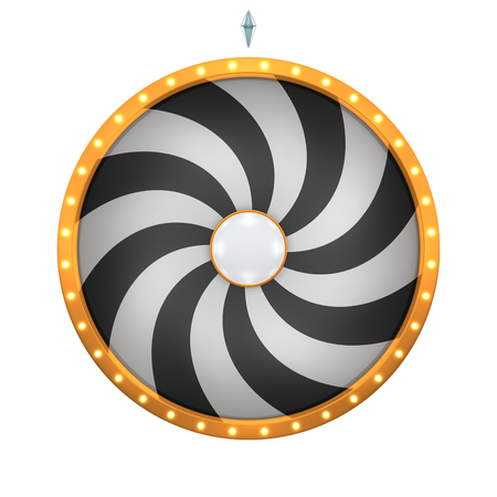 wheel spin: The wheel of fortune or Lucky spin animation was created by Three Dimensional.
