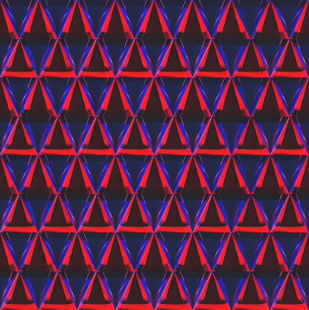 specular: 3D rendering of cone pattern was make by crystal material shader.