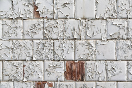 background of wall with aged tiles Stock Photo - 35762737