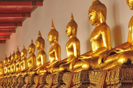 Ancient Lord Buddha Statue  photo