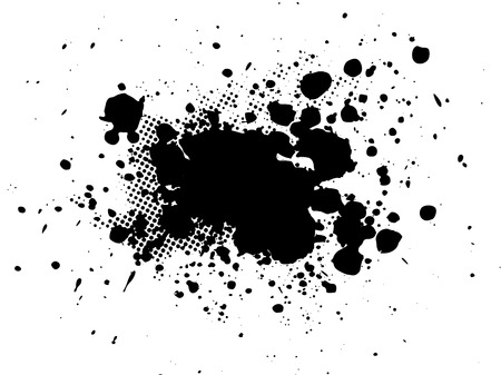 spatter:  splatter Illustration