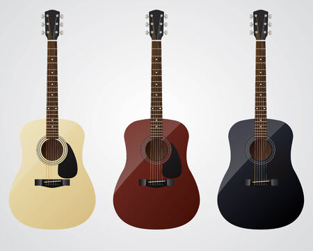 fender: Set of acoustic guitars