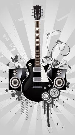 les: guitar
