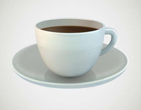 planta de cafe: Copa del caf� ilustraci�n vectorial Vectores