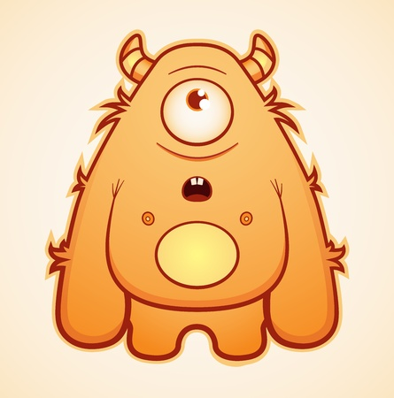 yeti: Yeti-Monster Illustration