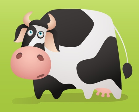 herbivorous: Cartoon Cow