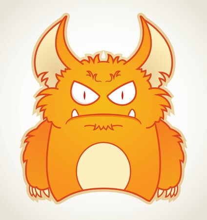 Angry Monster Stock Vector - 10498763
