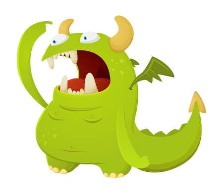 Dragon Character Vector