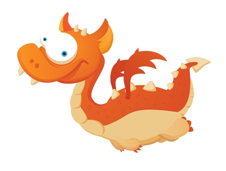 Flying Dragon Stock Vector - 12227598