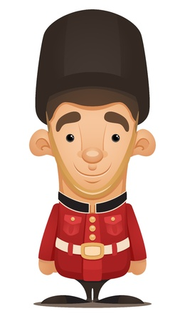 British Royal Guard Stock Vector - 12227404