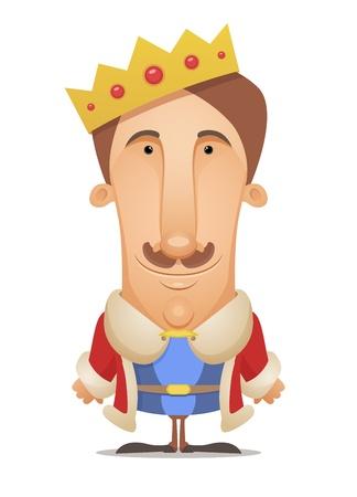corona de rey: Rey