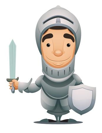 caballero medieval: Caballero