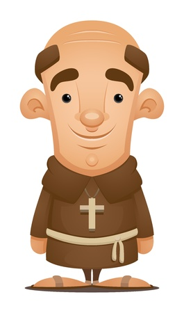 sacerdote: Monje
